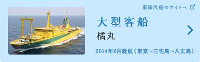 大型客船「橘丸」(東海汽船のサイトへ)